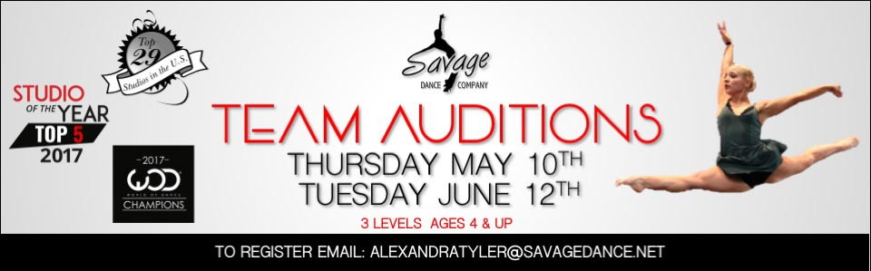 Savage Dance Team Auditions