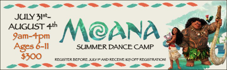 Moanna Summer Dance Camp