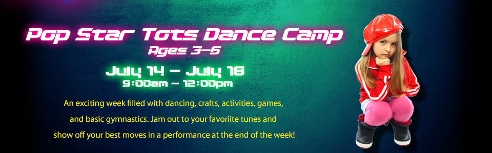 Pop Star Tots Dance Camp