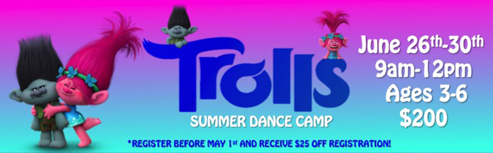 Trolls Summer Dance Camp